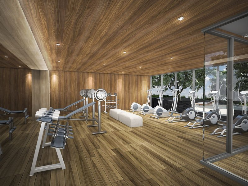 Luxury Hotel Gym with Activating Fragrance.