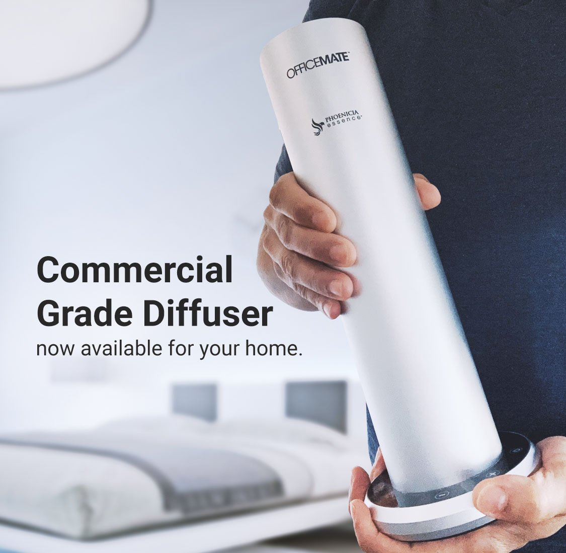 OfficeMate Home Fragrance Diffuser Features Image