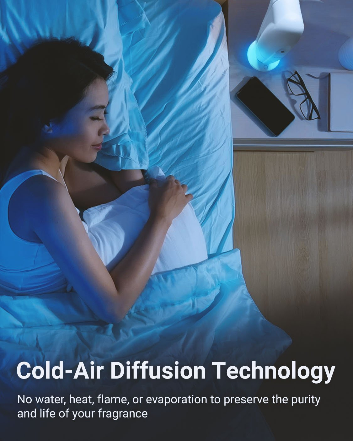 Cold-Air Diffusion Technology Image